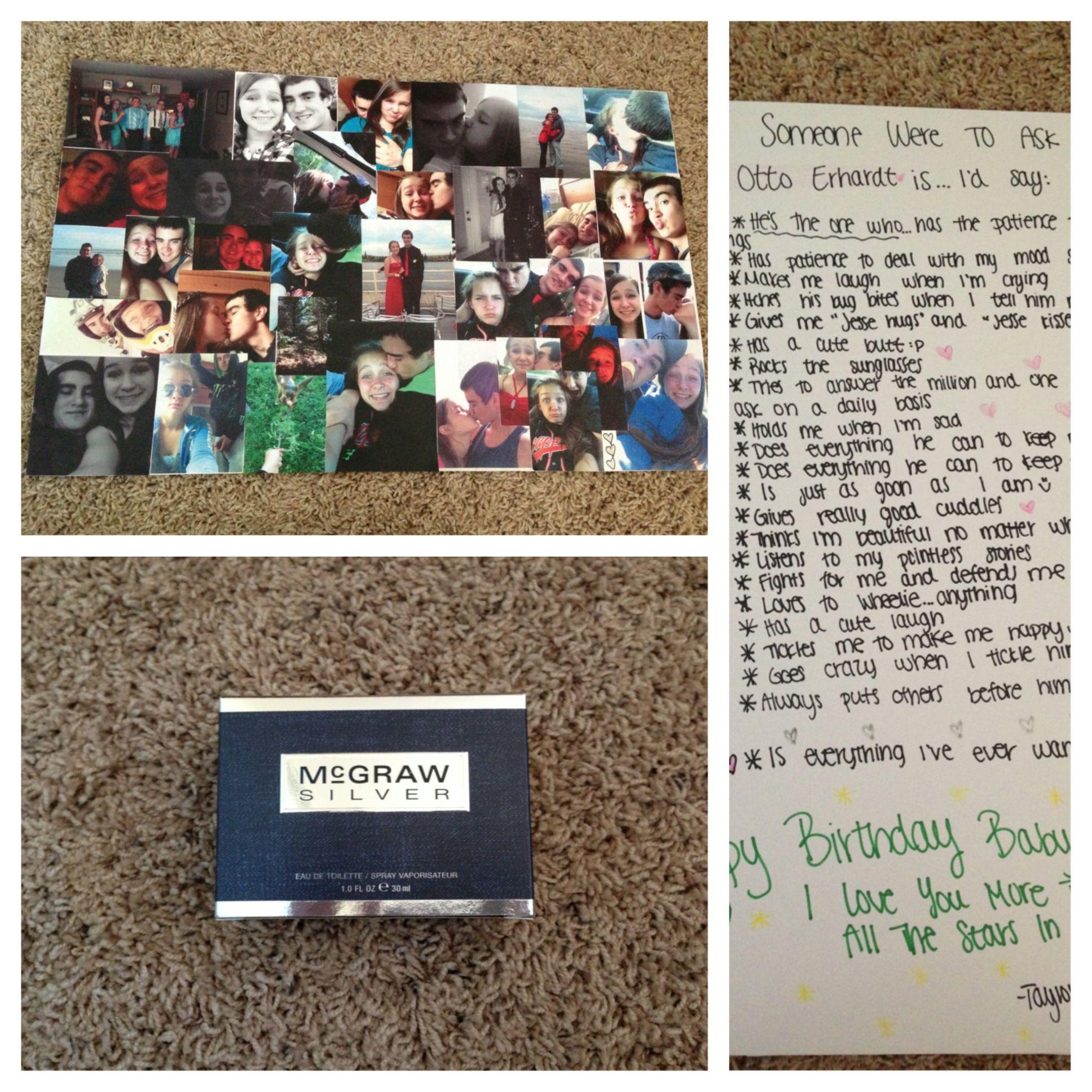 Boyfriend/girlfriend Birthday Present Idea! Make A Collage