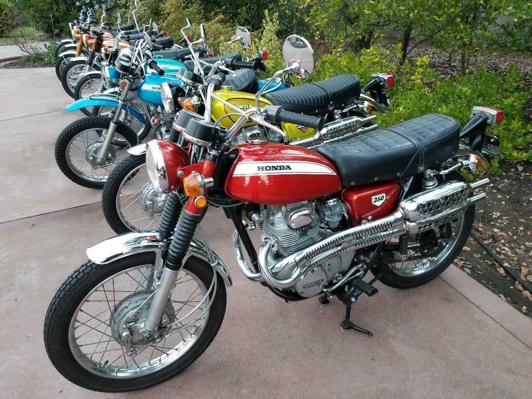 1971 Honda CL eBay Vintage honda motorcycles, Honda