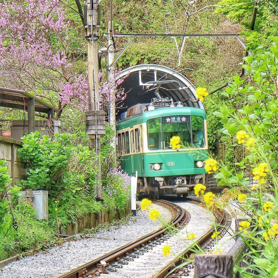 Instagram Photo By ジンジン2y Apr 14 2016 At 12 25pm Utc 美しい場所 風景 列車の旅