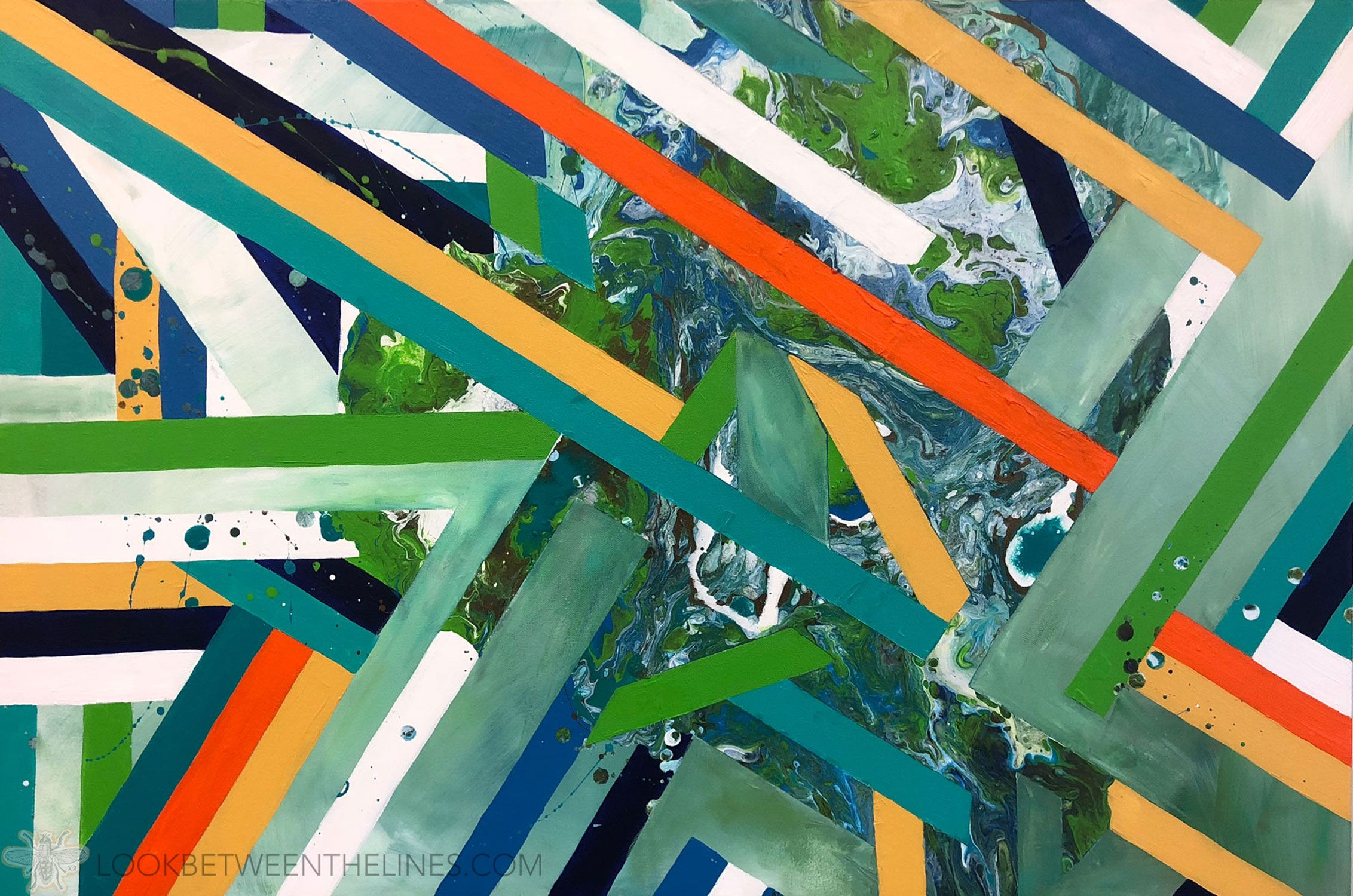 How To Create An Abstract Work Of Plus How To Teach It To