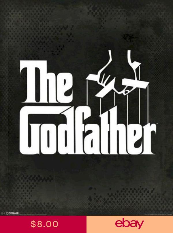The Godfather Movie Poster Puppet Strings Logo 16x20 Marlon Brando Papeis De Parede Tatuagem Filmes