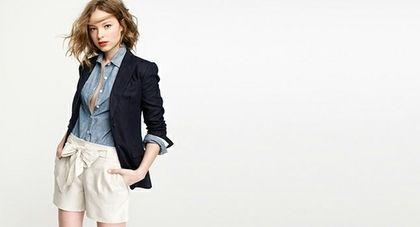 Linen Stripe Popover - StyleSays