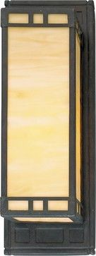 Arts and Crafts Wall Sconce - modern - wall sconces - Wayfair