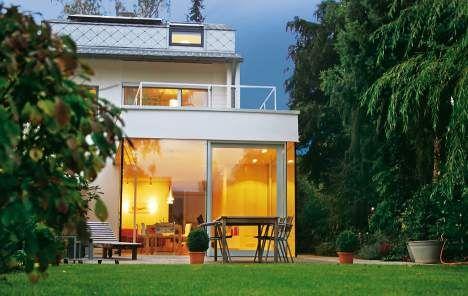 reihenhaus ausbau ein haus w chst mit umbau hausideen. Black Bedroom Furniture Sets. Home Design Ideas