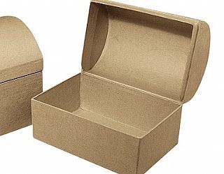 Cardboard Craft Boxes To Decorate Paper Mache Or Papier Mache Chests To Decorate  Pack Of 9 Paper