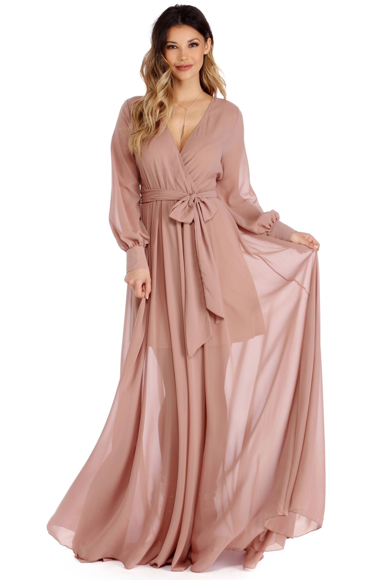Charlotte Taupe Romance Dress | windsor | for the wedding party ...
