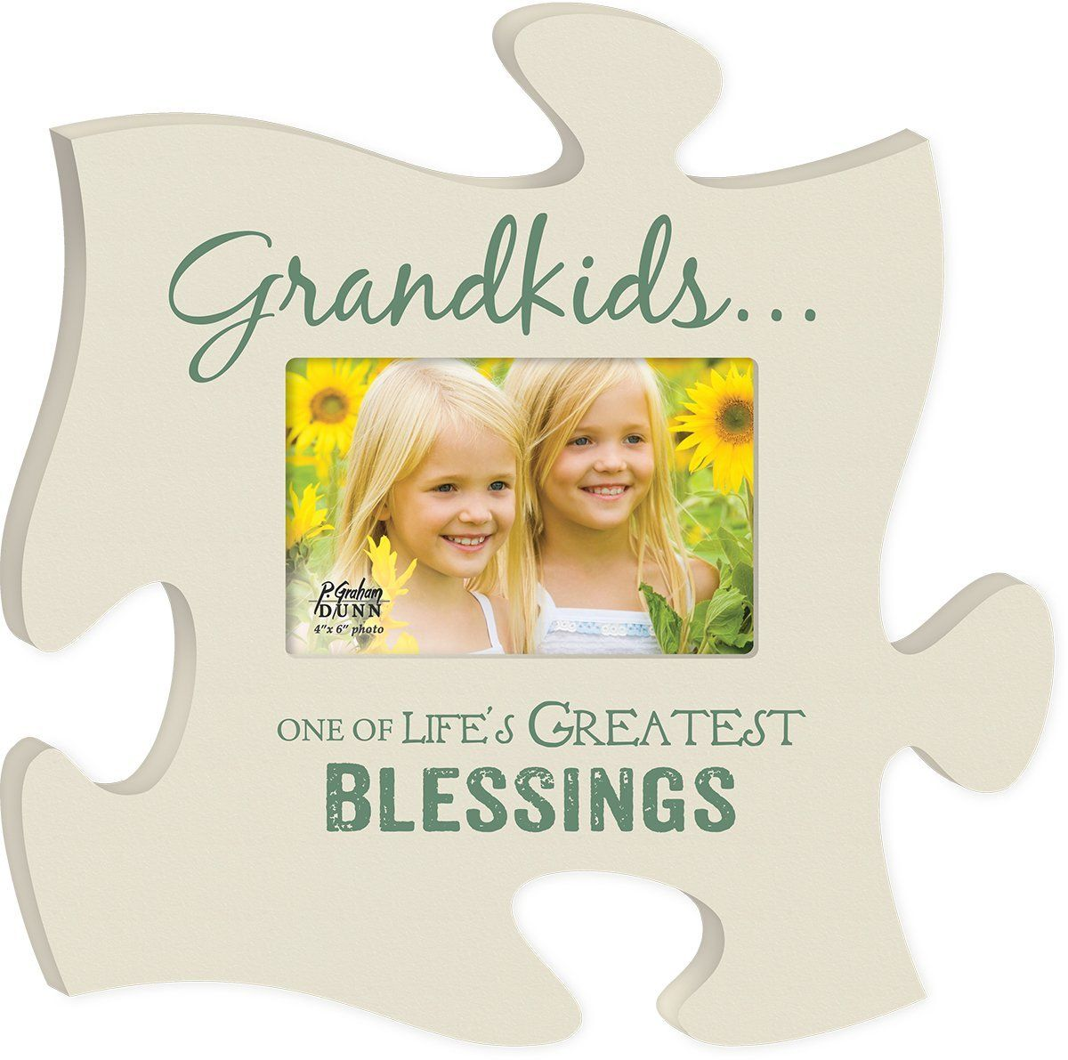 Grandkids Life\'s Greatest Blessing Cream 4x6 Photo Frame ...