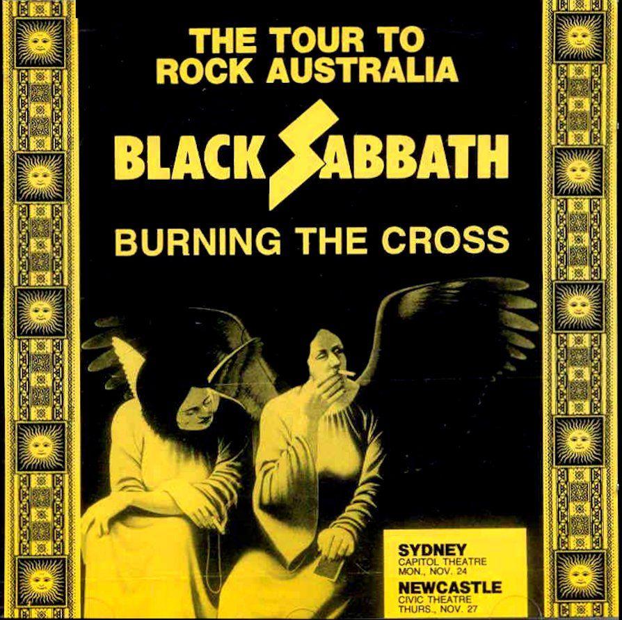 Black Sabbath - Burning The Cross (Capitol Theatre in Sydney, Australia 1980)