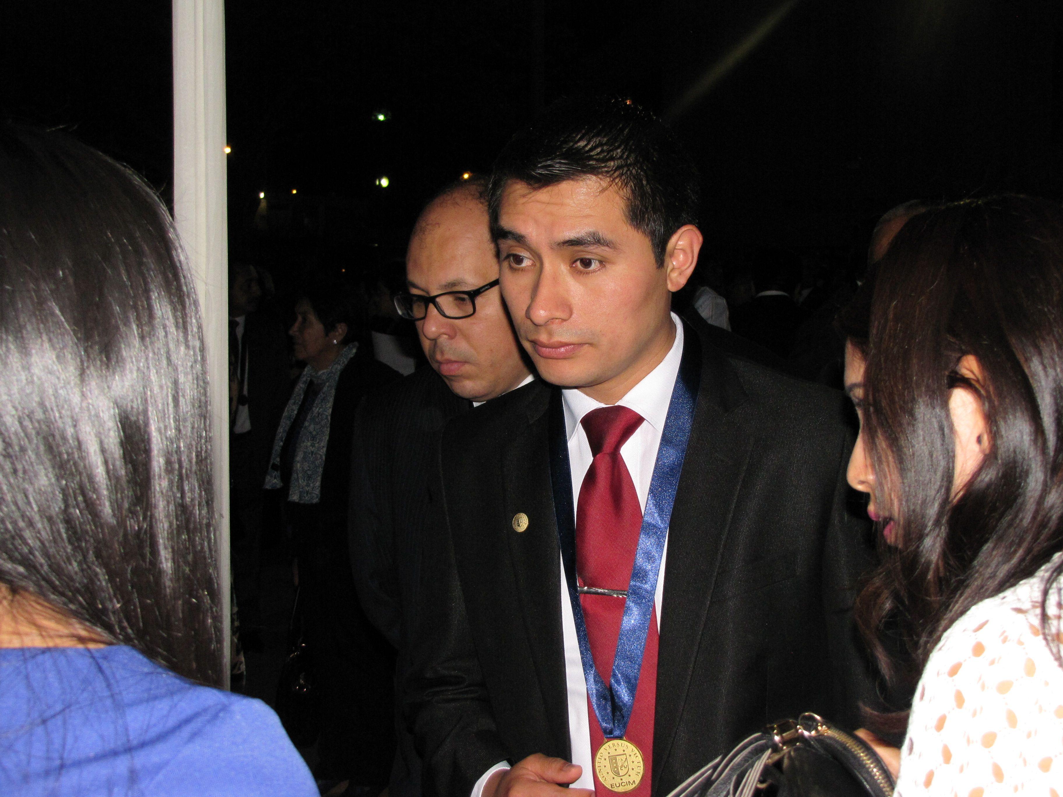 Ceremonia de Graduación de la Fase 1 del Programa en Gestión Pública Master en Gerencia Pública - EUCIM Business School