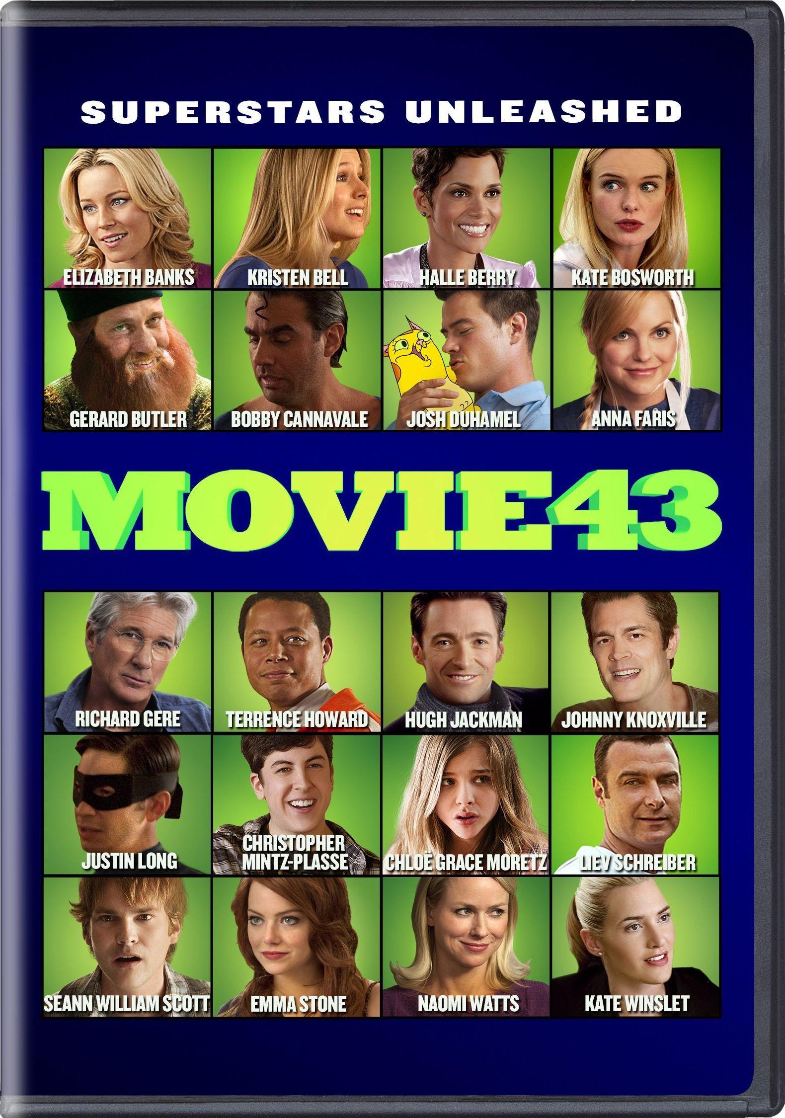 Movie 43 2013 Movie 43 Richard Gere Blu Ray Movies
