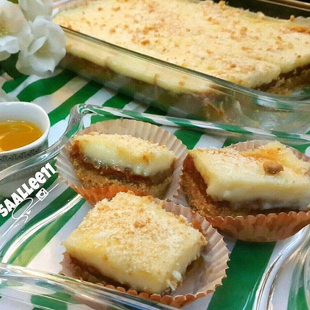 حالي ومالح On Instagram حلى كله لذه وطعامه تمريه بطريقه لذيذذذذذه وبسيطه Saallee11 ٢ونص بسكوت اولكرم Dessert Recipes Food Desserts