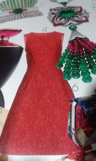 Vestido brocado de Dolce&Gabbana