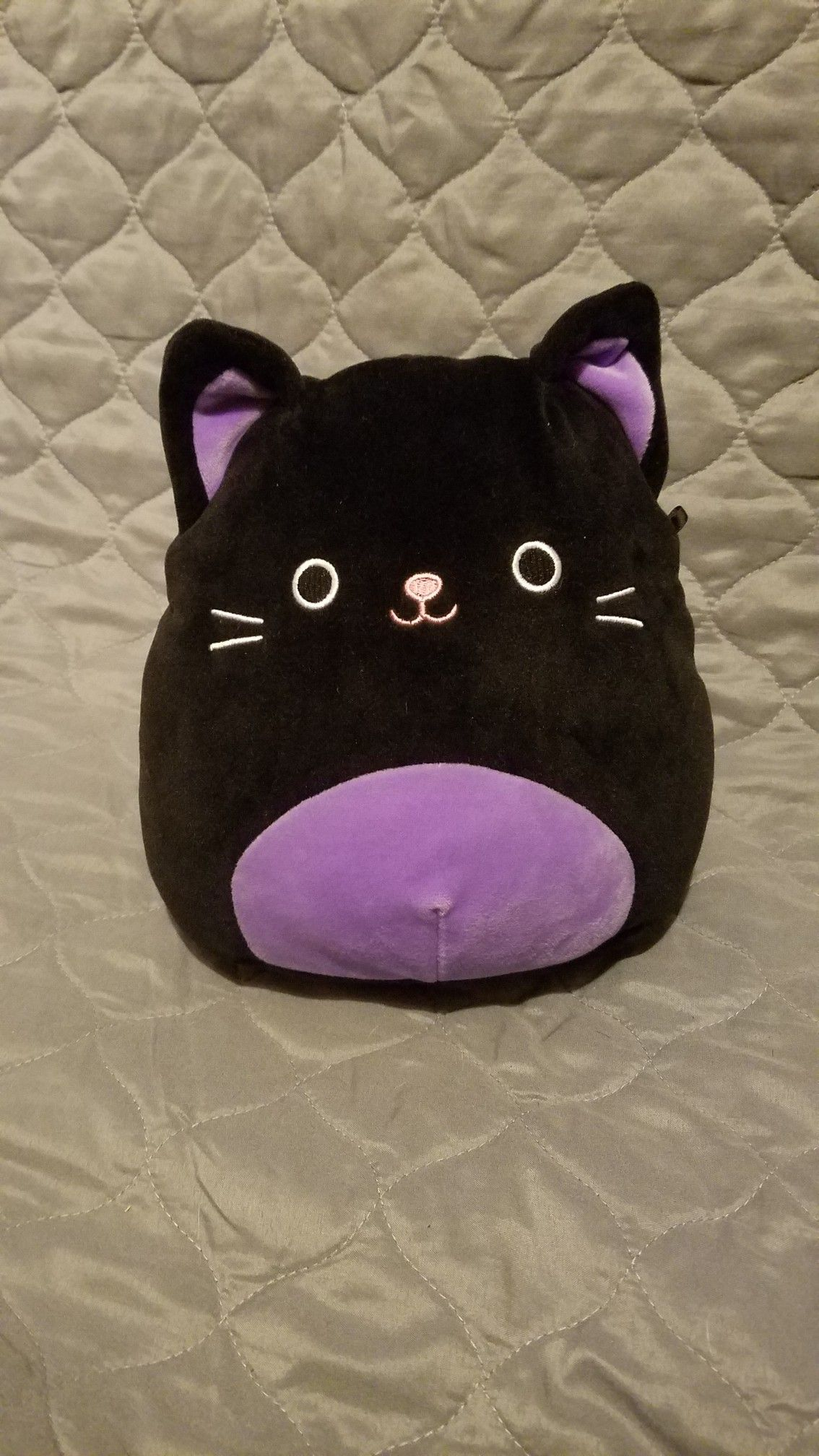 8 Autumn Purple Black Cat Cute Squishies Bra Bags Purple And Black