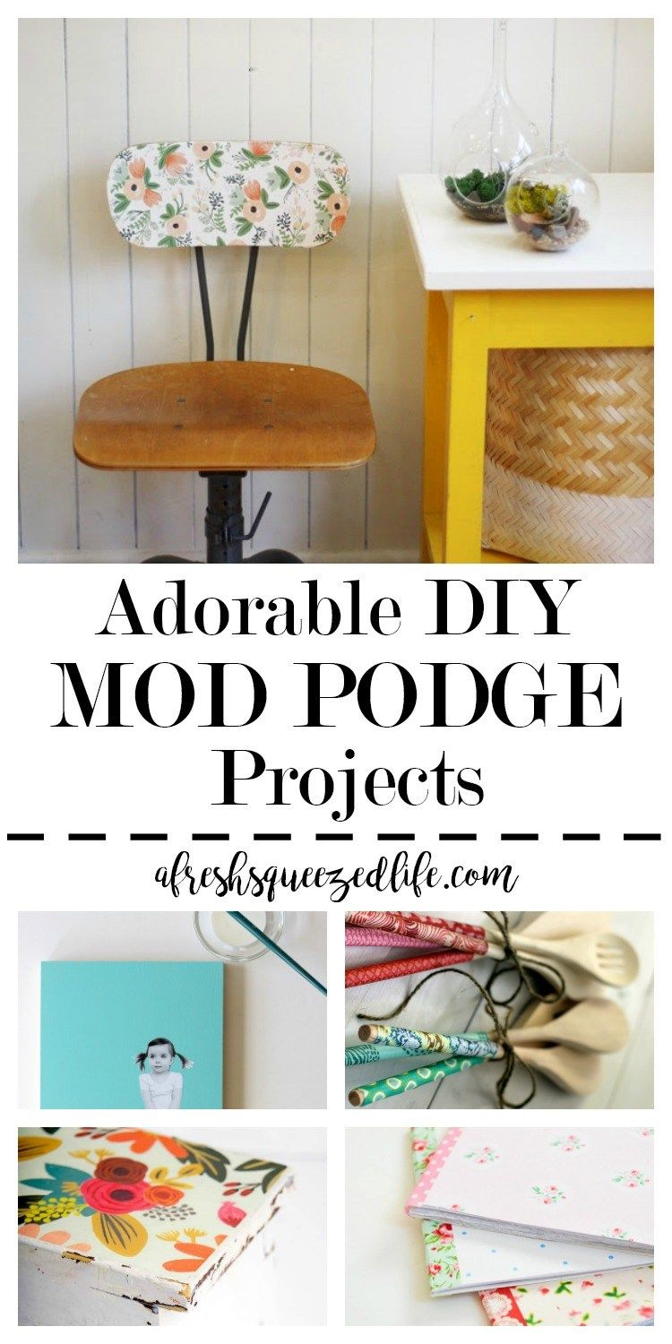MOD PODGE Craft Ideas Pinterest Crafts DIY and DIY Projects