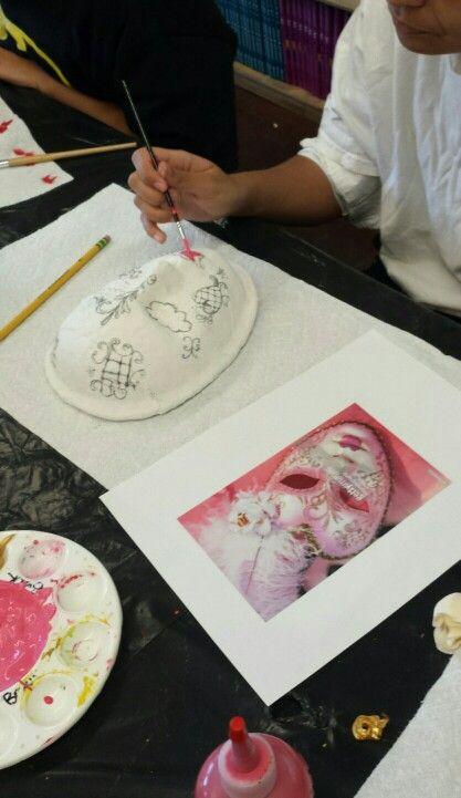 Cultural  Masks - Grade 8