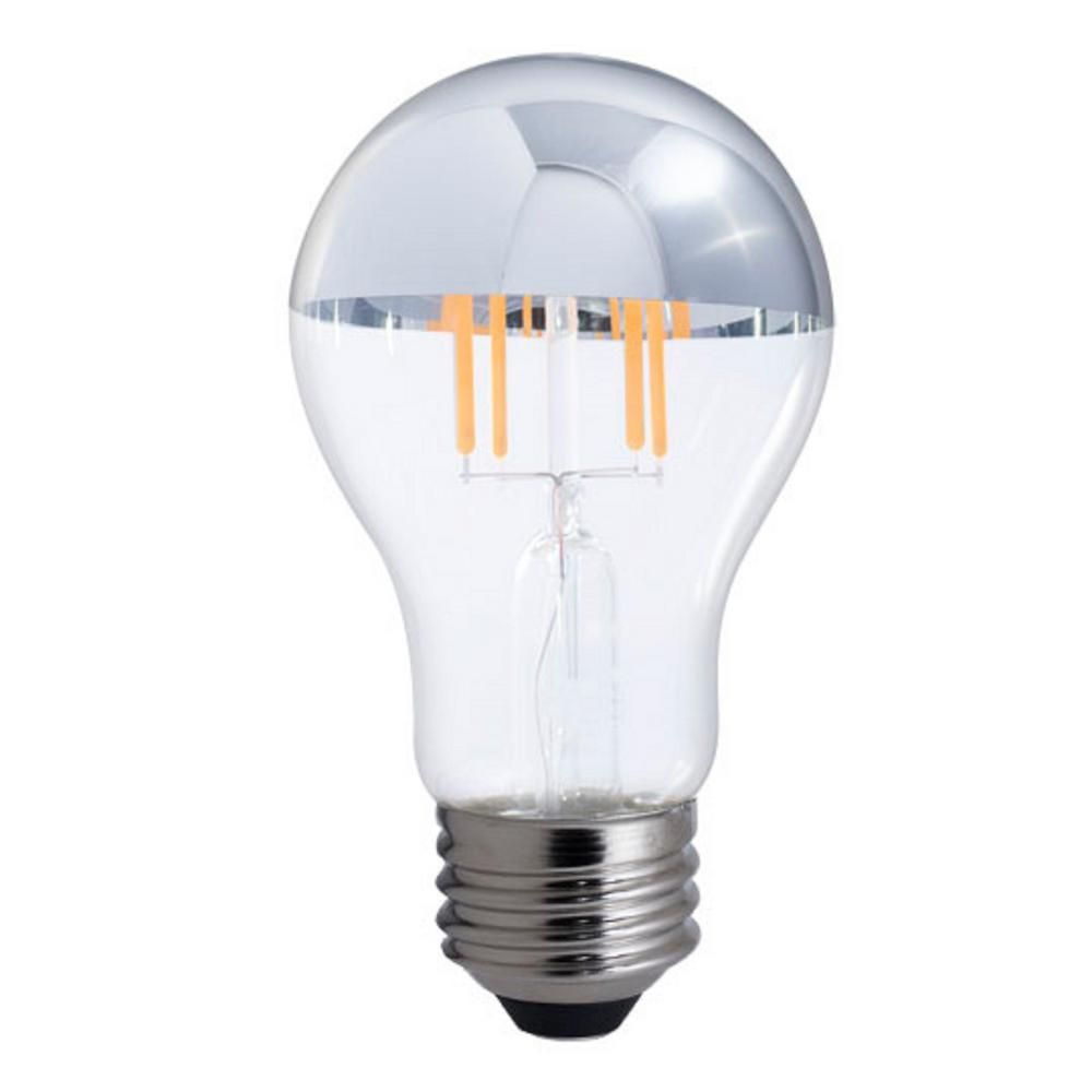 Bulbrite 40w Equivalent Warm White Light A19 Dimmable Led Half