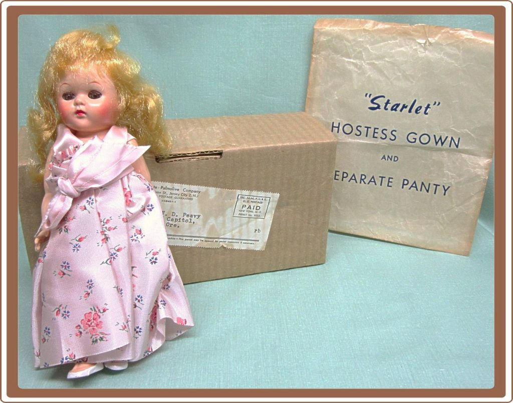 1950's Hard Plastic Ginny Type Doll from Colgate Palmolive Co