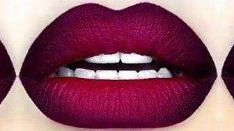 Comment Appliquer Son Rouge A Levres Comment Faire Un Ombre Lips Degrade Sur Les Levres Yout Rouge A Levres Degrade Rouge A Levres Maquillage Levres Rouges