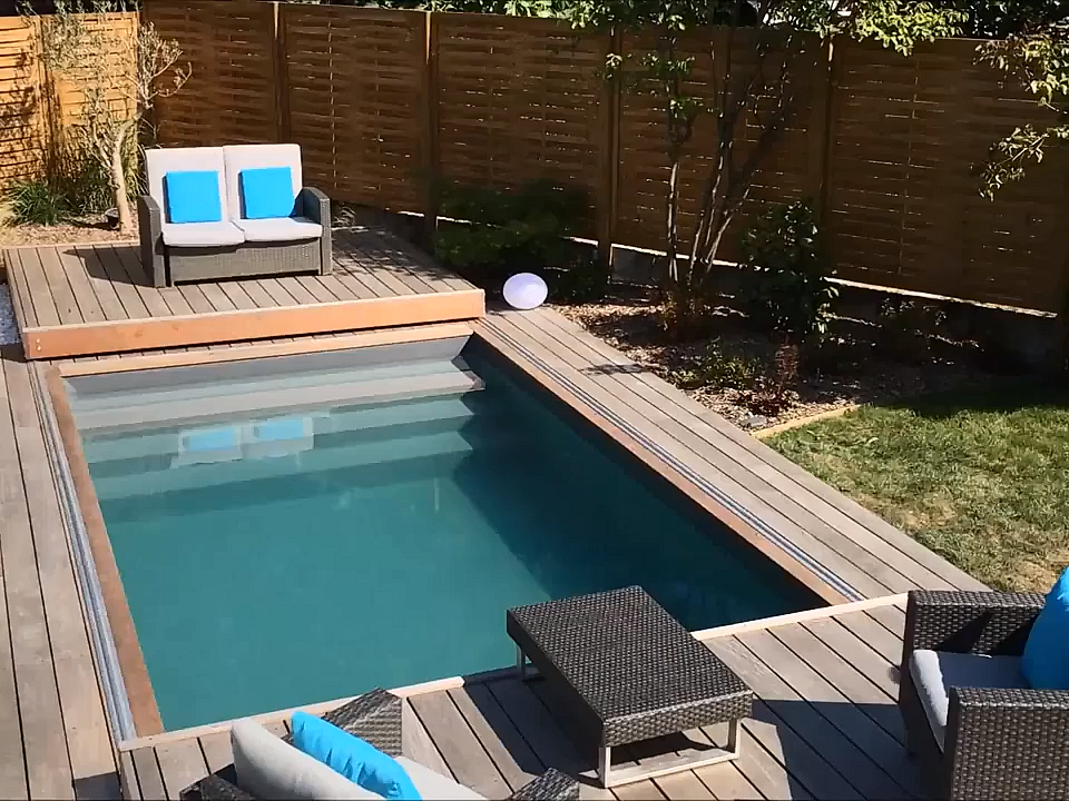 Rolling Deck The Mobile Pool Terrace Mobile Pool Rollingdeck Terrace Backyard Pool Landscaping Backyard Pool Designs Backyard Patio Designs