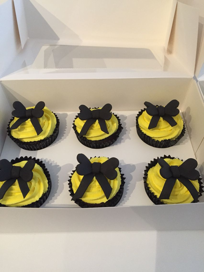 Emma Yellow Wiggle Inspired Cupcakes Wiggles Birthday