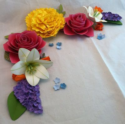 All that scrap paper flowers flowers butterflies pinterest all that scrap paper flowers mightylinksfo