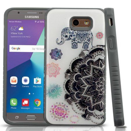 Galaxy J7 Sky Pro case by Insten Fusion Mandala Case Cover