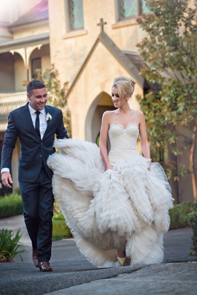 Suzanne Harward, Custom Made, Size 8 Wedding Dress | Gowns ...