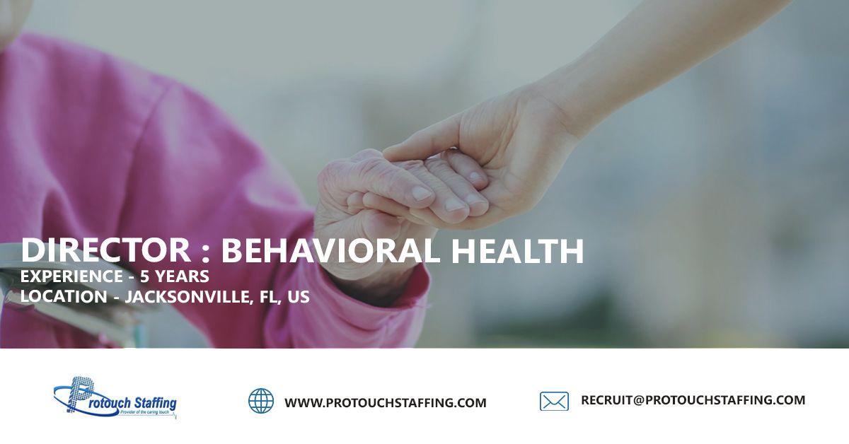 Director behavioral health behavioral health behavior