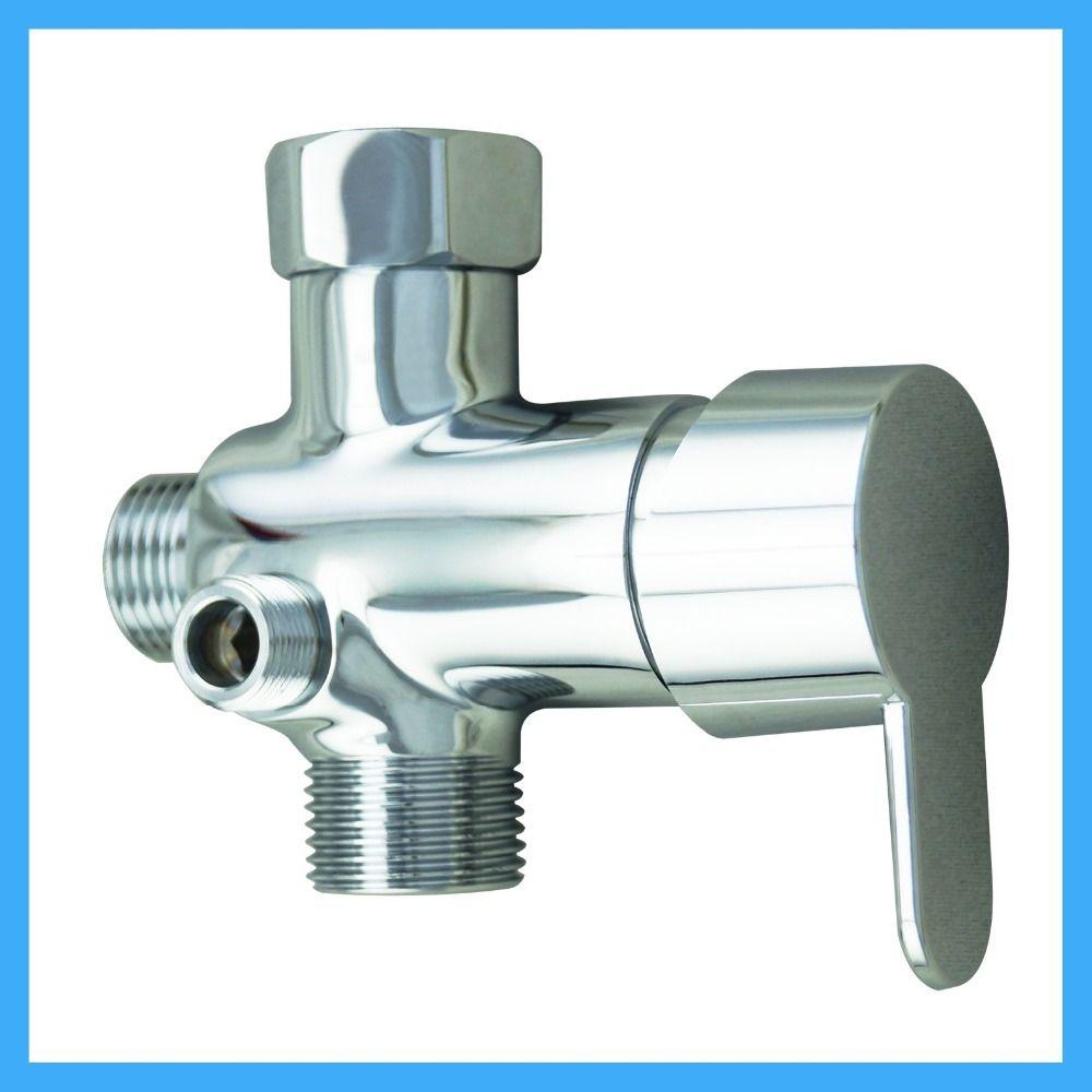American Standard 7 8 Toilet Cold And Hot Water 3 Way Diverter Brass For Bidet Sprayer Shower And Shower Head Valve Chrome With Images Bidet Sprayer Bidet Hot Water