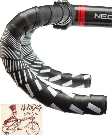 Brand New Cinelli Cork Ribbon Handlebar Tape Fixie RED End Plugs