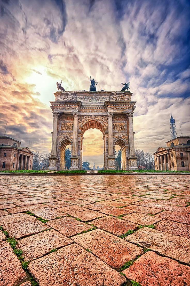 Porta Sempione, Milan, Italy