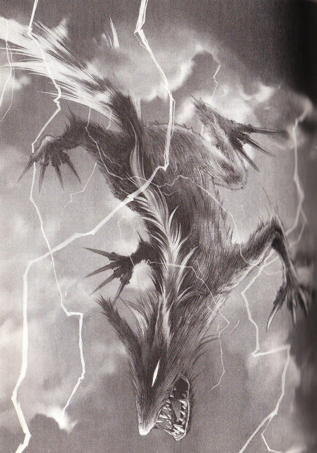 The Raiju Is Friends With Raijin The Shinto God Of Lightning He Falls To Earth In A Blot Of Lightning Mysterious Universe Mythical Monsters Myths Monsters Le raijū (雷獣, ou ) est un yōkai de la mythologie japonaise. the raiju is friends with raijin the