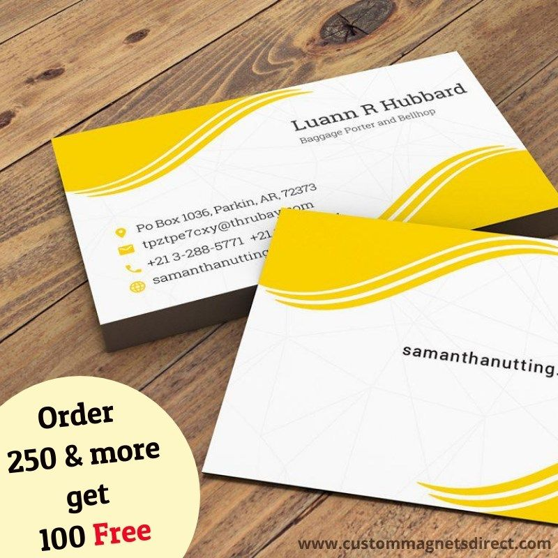 Business Card Magnets Magnetic Business Cards Business Cards Business