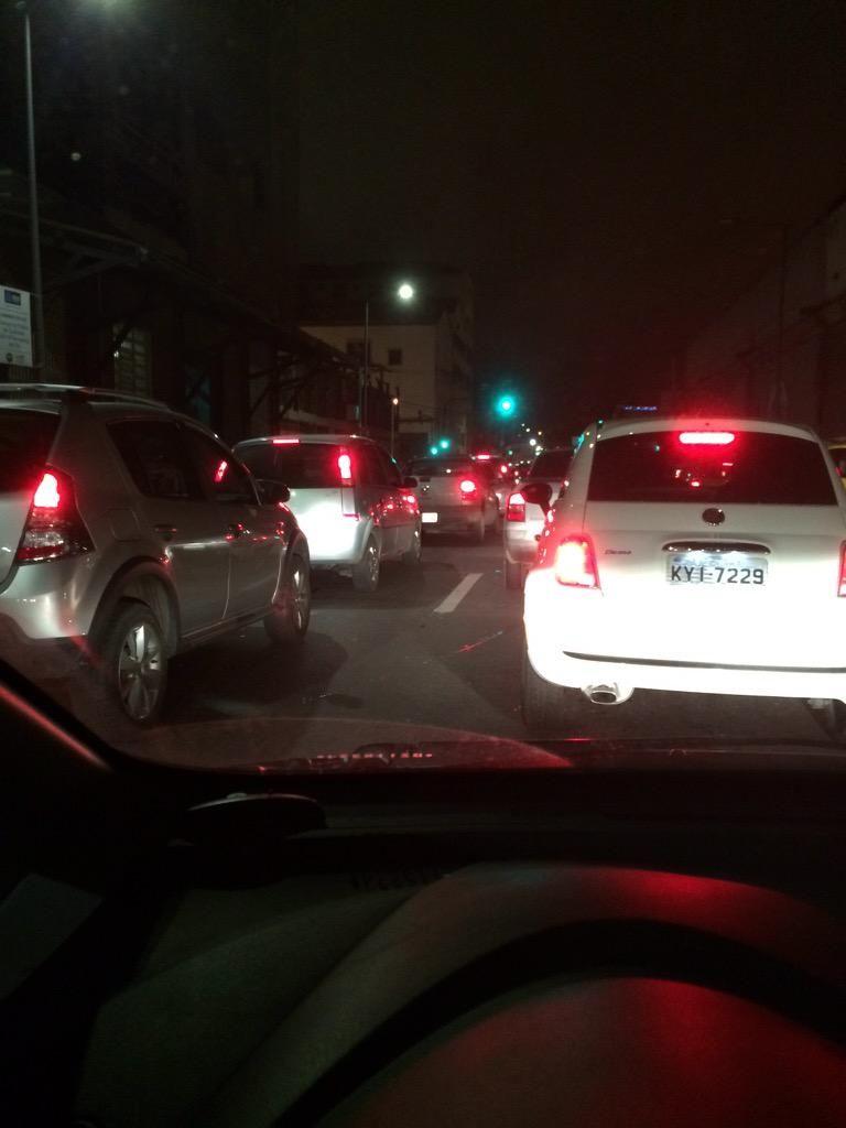 RT @rgidorino:  avenida binário completamente parada.