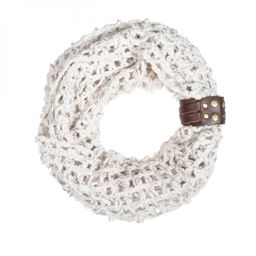 Off White Sonia Crochet Cowl Scarf | Crafts | Pinterest