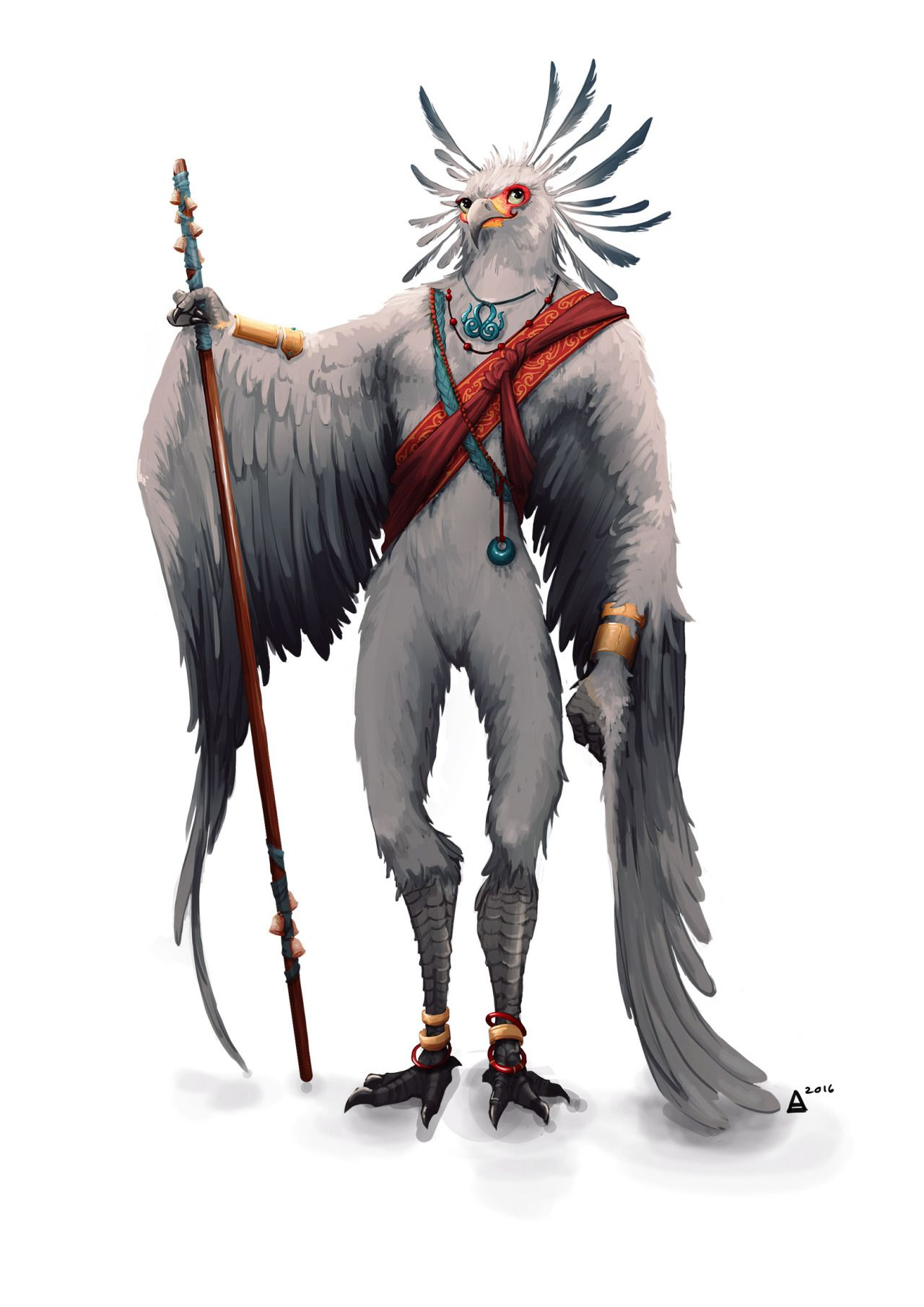 Ok Character Number 2 The Aarakocra Monk For