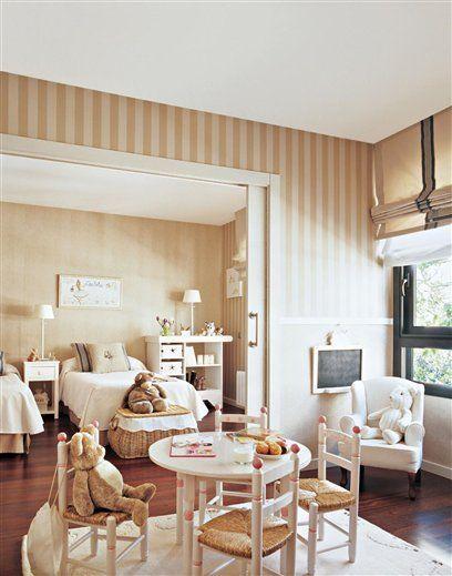 30 habitaciones infantiles con buenas soluciones   Habitación ...