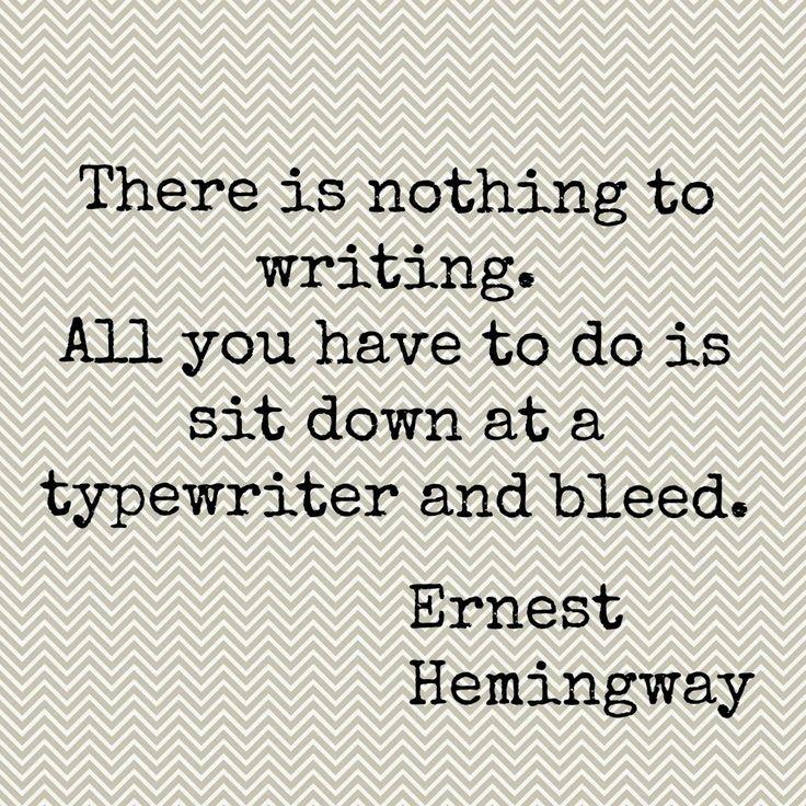 My Writing Method