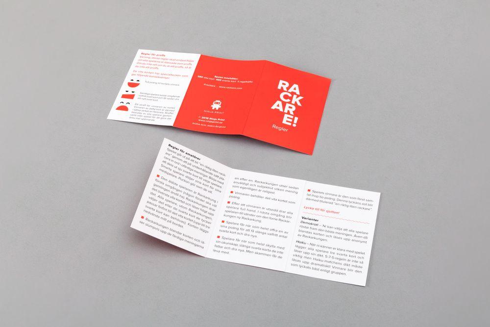 Rackare Card Games Game Design Packaging Design Inspiration