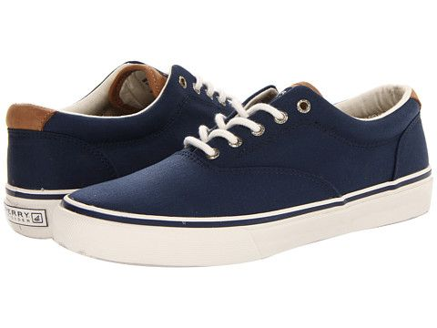 Sperry striper cvo waxed canvas sneaker, Shoes