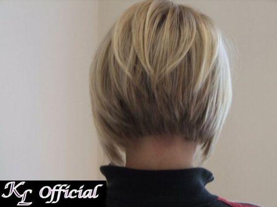 Back View Of Short Angled Bob Haircuts