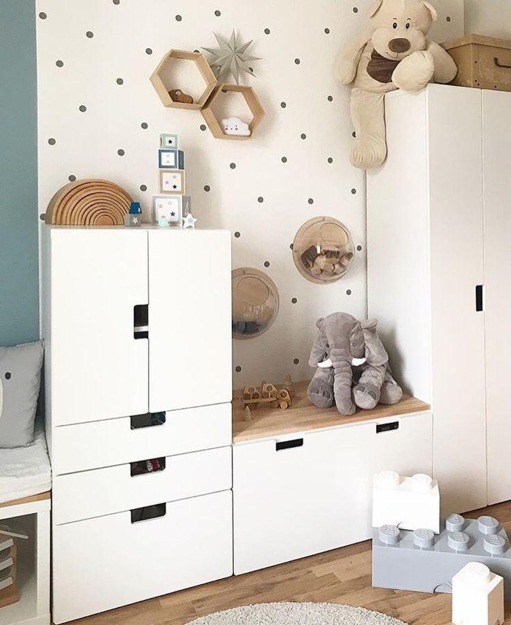 """Ein Träumchen von Kinderzimmer on Instagram: """"Einfach total niedlich! ???? Danke für das tolle Bild @levi_andme ❤ #lebenmitkindern #kinderzimmerideen #interiordesign #dekoration…"""" #ikeakinderzimmer"""