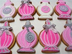 Perfume Bottle Cookie Favors