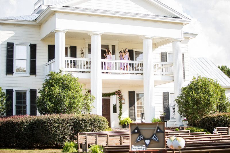 Antebellum Wedding Venue In Alabama Outside Southern Bride