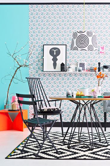 puedes combinar pintura y tejido a gorgeous interior by janne peters