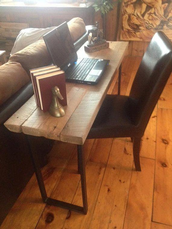 Table En Vieux Bois De Grange 2 Quot D 39 Epaisseur Furniture Driftwood Furniture Furniture Makeover