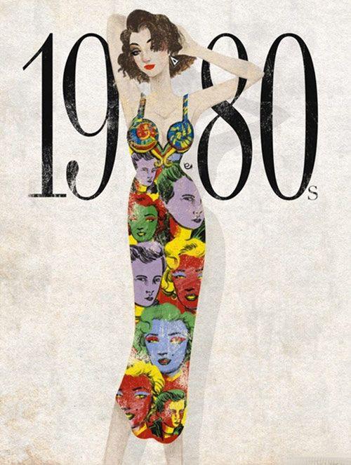 Không Bất Ngờ Khi Eko Minh Họa Thời Trang Những Năm 80 Bằng Hình Ảnh Thiếu  Nữ Giống Ca Sĩ Madonna Thập Niên 80 Với Mái Tóc Ngắn Rối Bù,Đeo Trang Sức  ...
