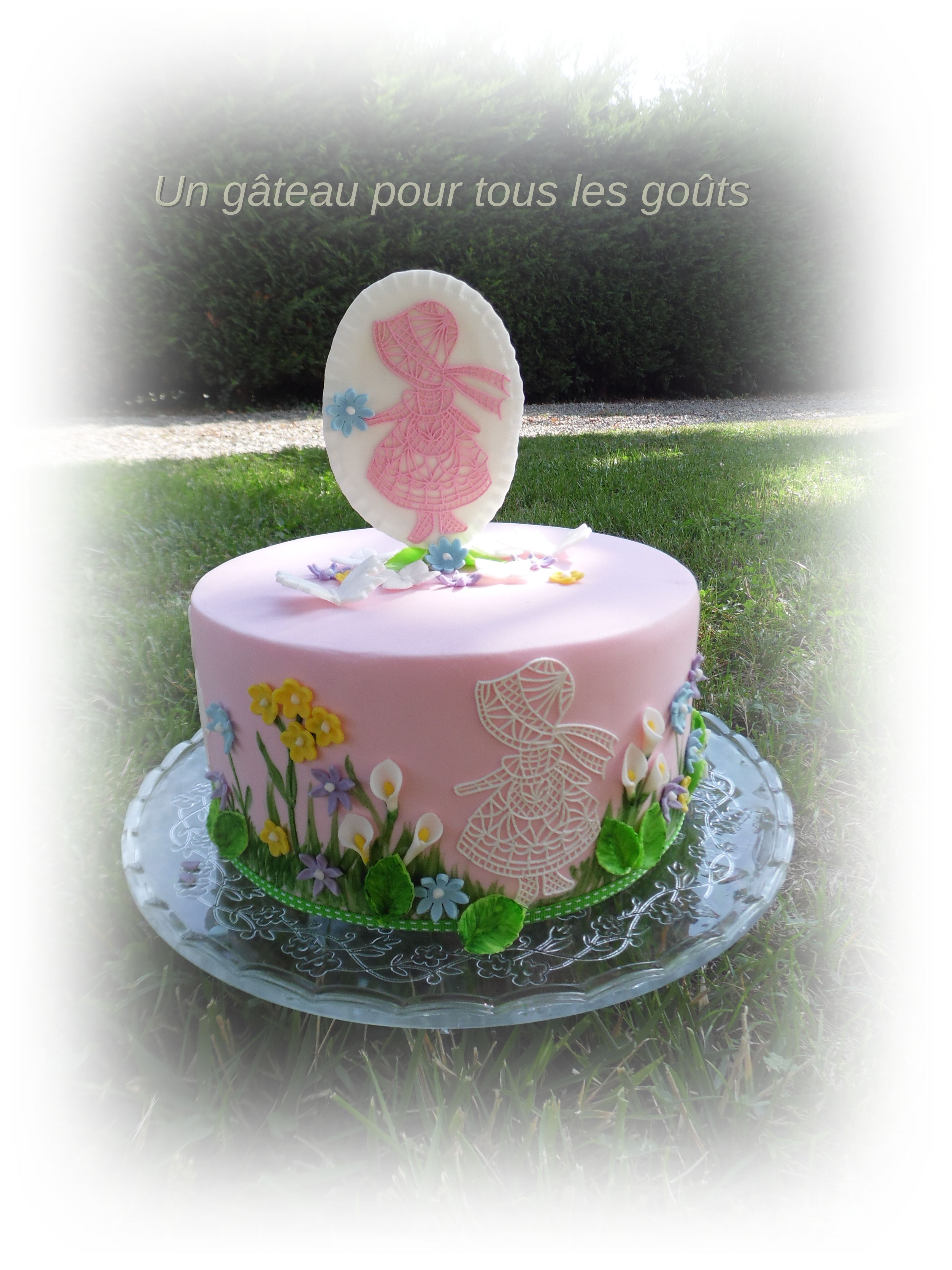 cake champêtre fille WEDDING CAKE  Anniversaire cake gâteaux  torta de  cumpleaños