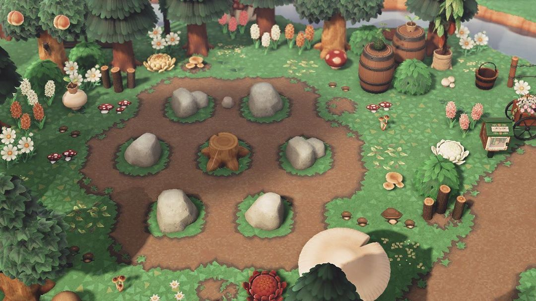 "taybae on Instagram ""rock garden 🐚🌱 i love how mushroomy"