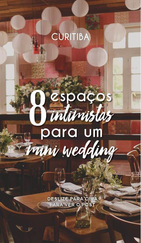 Mini Wedding Curitiba Lugares 1